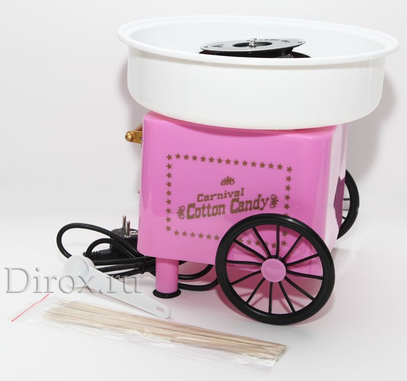 аппараты для приготовления сахарной ваты купить в Москве: доступная цена, фото, характеристики, отзывы - Mercatos.net